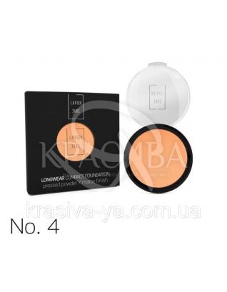 Longwear Compact Foundation Pressed Powder Компактная пудра для лица 4, 12 г : Макияж для лица