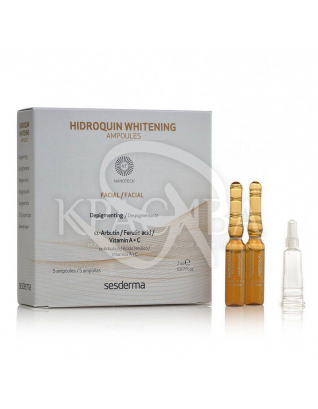 Hidroquin Whitening Ampoules - Освітлюючі ампули, 5*2 мл : Sesderma