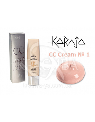 Karaja Крем CC Cream Color Correction 1, 30 мл : СС-крем
