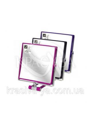 Beter Make Up Зеркало складное двустороннее, х7 увеличения, 14.5*14.5 см : Аксессуары