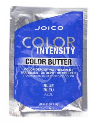 Цветное масло Color Intensity Care Butter Синий, 2 х 20 мл : Оттеночные средства