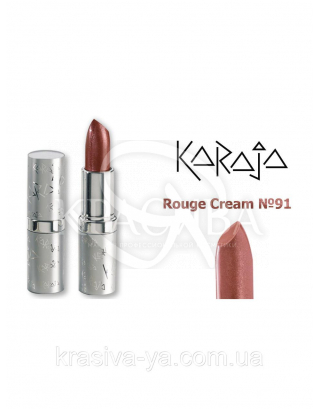 Karaja Губна помада Rouge Cream 91 Mocca, 3.5 м