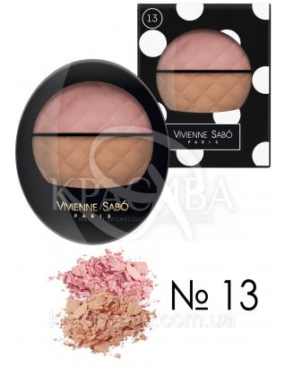 VS Teinte Delicate - Румяна двойные (13-розовый/светло-коричневый), 2 г + 3 г : Макияж для лица
