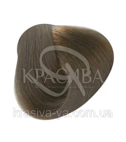 Стойкая Безаммиачная Крем краска для волос 6.81 Темный дымчатый пепельный блондин, 100 мл - 1