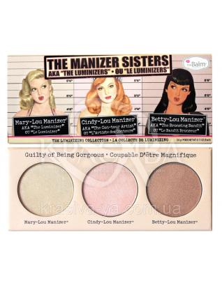 """The Balm Palettes The Manizers AKA the Sisters """"Luminizers"""" - Палітра хайлайтеров, 9 м : Хайлайтери"""