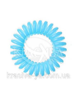 Резинка для волос голубая, 3шт : Заколки и резинки