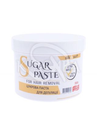 Silk&Soft Сахарная паста для депиляции Ультра твердая Ultra Hard, 500 г + 150 г : Паста для шугаринга