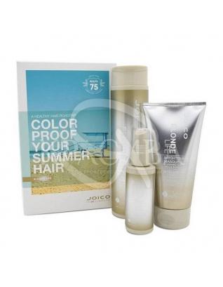 Літній набір Blonde Life (шампунь + маска + спрей вуаль), 300 мл + 150 мл + 50 мл : Beauty-бокси для волосся