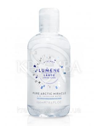 Lahde Pure Arctic Miracle - Вода мицеллярная для нормальной и чувствительной кожи 3в1, 250 мл : Мицеллярная вода