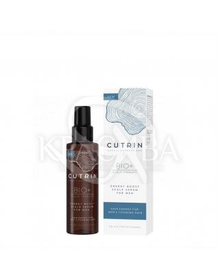 Cutrin Bio+ Energy Boost Scalp Serum For Men - Стимулирующий лосьон против выпадения волос у мужчин, 100 мл : Сердства от выпадения волос