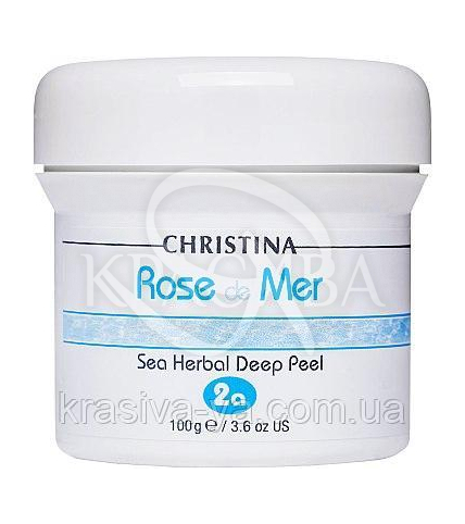 Роз де Мер Натуральный пилинг + Активатор (шаг 2a, 2b) Rose de Mer Herbal Deep Peel kit - 1