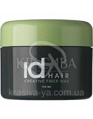 Id Hair Creative Fiber Wax - Воск для волос сильной фиксации, 100 мл : Воск для волос