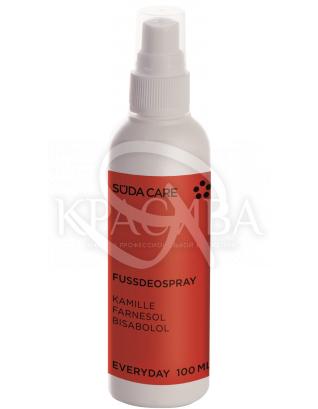 Спрей - дезодорант для ніг, 100 мл (флакон з розпилювачем) : Süda