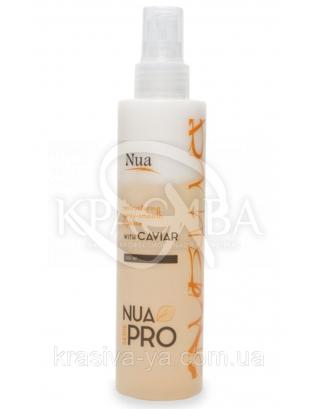 NUA Pro Відновлюючий спрей - розгладження двофазний з чорною ікрою, 200 мл : Спрей для волосся