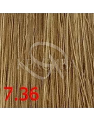 Cutrin Aurora Demi Color - Безаммиачная краска для волос 7.36 Золотой песок, 60 мл : Безаммиачная краска