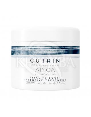 Cutrin Ainoa Vitality Boost Intensive Treatment - Интенсивная питательная маска для волос, 150 мл