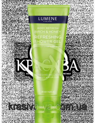 "Body Refresh Birch & Honey - Гель для душа освежающий ""Береза и Мед"", 200 мл : Lumene"