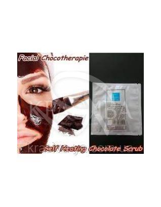 Самонагревающийся шоколадный скраб для лица, 15 г : Скрабы и эскфолианты