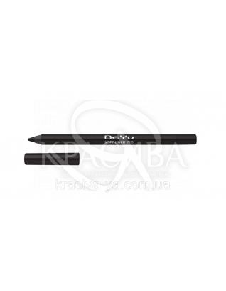 Косметичний олівець для очей 710 Metallic Black, 1.2 м : Beyu