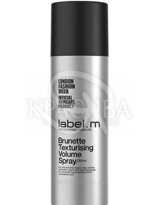 Спрей текстуризуючий для обсягу для брюнеток, 200 мл : Label.m