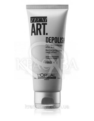 L'oreal Professionnel Tecni Art Wild Stylers Depolish - Реконструрирующая матирующая паста для волос, 100 мл : Паста для волос