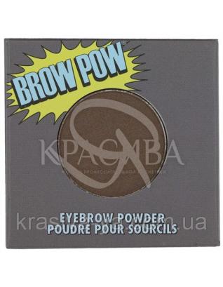 The Balm Brow Pow-Dark Brown - Пудра, тіні для брів, 0.85 г : Пудра для брів