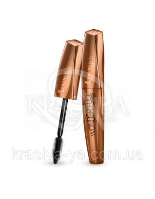 RM Wonder ' Full Argan Oil - Тушь для ресниц (01-Black / черный), 11 мл : Тушь для ресниц