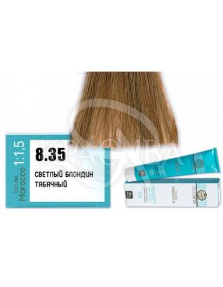 Barex Olioseta ODM - Крем-краска безаммиачная с маслом арганы 8.35 Светлый блондин табачный, 100 мл :