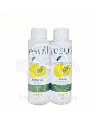 Набор PhytoPlastia Подготавливающий шампунь+Термо маска выпрямления и питание волос  (Шаг 1+Шаг 2), 2*100 мл : Beauty-боксы для волос