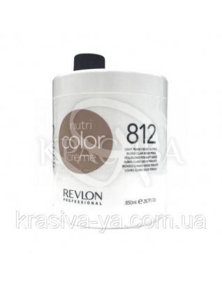 Тонирующий бальзам для волос 812 Светлый жемчужно-бежевый блонд, 850 мл