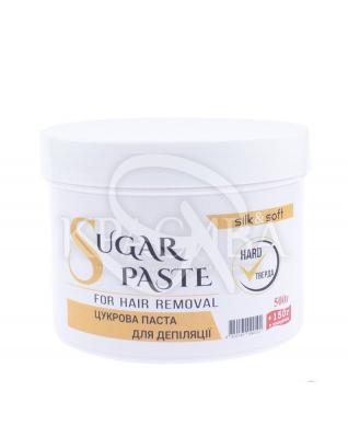 Silk&Soft Сахарная паста для депиляции Твердая Hard, 500 г + 150 г : Паста для шугаринга