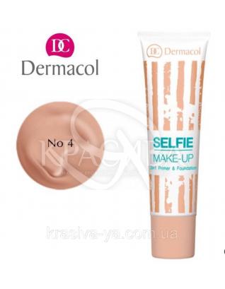 DC Make-up Selfie Primer & Foundation 04 Тональний крем + база 2в1, 25 мл :