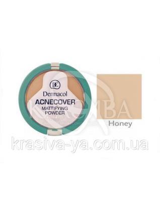 DC Make-up Acnecover Mattifying Powder 04 Honey Пудра компактная матирующая для проблемной кожи, 11 г