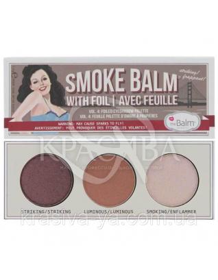 The Balm Mini Palettes SmokeBalm Vol.4 - Палетка теней для век, 7.2 : TheBalm