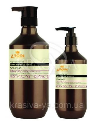 Активизирующий шампунь для волос с экстрактом розмарина, 400мл :