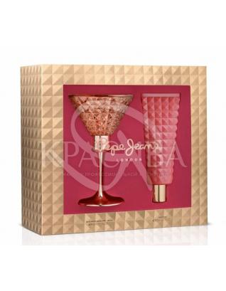 Жіноча парфумована вода + Лосьйон для тіла : Жіночі парфумерні набори