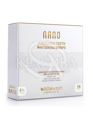 NANO розчинні відбілюючі смужки для зубів, шт 28 : WhiteWash Laboratories