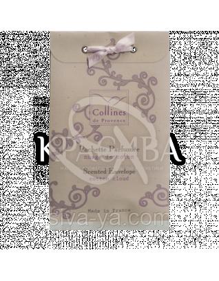 """CP Ароматизатор повітря інтер'єрний у формі конверта, аромат """"Бавовняні хмари""""/Scented Envelope Cotton Cloud : Collines de Provence"""
