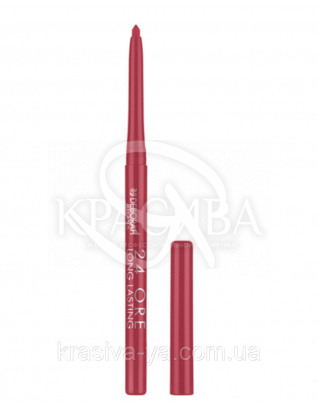 """Стійкий косметичний олівець для губ """"Long Lastin 24 Ore"""" 7 Pink Garnet, 0.4 г : Олівець для губ"""