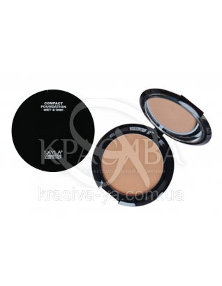 Компактная основа для лица Top Cover Compact Foundation 03, 8 г : Основа под макияж