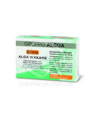 Пищевой комплексный продукт водоросль Bakate Alga Wakame для специального диетического потребления,30шт.13.65г : Диетические и пищевые добавки