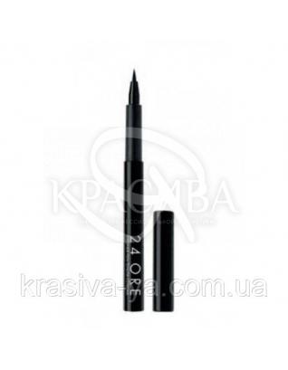 """Стойкая подводка- карандаш для глаз """"24 Ore"""" Black, 2.4 мл : Подводка для глаз"""