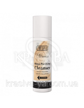 Mega - Purifying Cleanser Очищувальні вершки з маслом Лаванди, 200 мл : GlyMed Plus