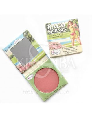 The Balm Bronzer Balm Springs - Рум'яна-бронзатор, 6.39 р