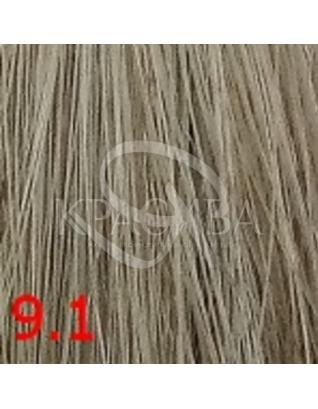 Cutrin Aurora Demi Color - Безаммиачная краска для волос 9.1 Очень светлый пепельный блондин, 60 мл : Безаммиачная краска