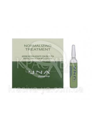 Уна Комплекс для восстановления жирового баланса кожи головы, 12*10 мл