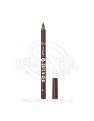 """Косметический карандаш для губ Lip Liner """"New Color Range"""" 10 Brick, 1.5 г : Карандаш для губ"""