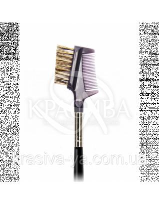145 Brow and lash groomer - Кисть для брів і вій, синтетика : Nastelle