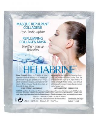 Биоцеллюлозная маска-заполнитель морщин для лица : Heliabrine