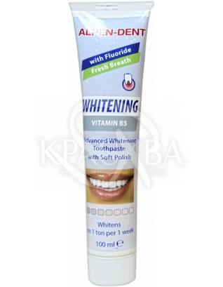 Альпен Дент Паста зубна відбілююча з вітаміном В 5, 100 мл : Fushima